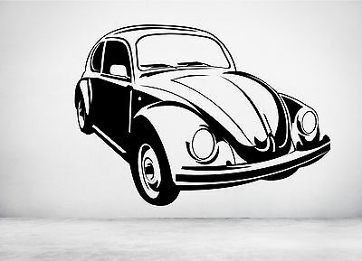 VW Beetle Classic Custom XL OVER 1 METER WIDE Glossy Poster **UK SELLER**