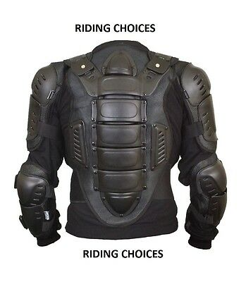 MOTORCYCLE MOTORBIKE Body Armour Protector Protection Jacket BODY ARMOUR