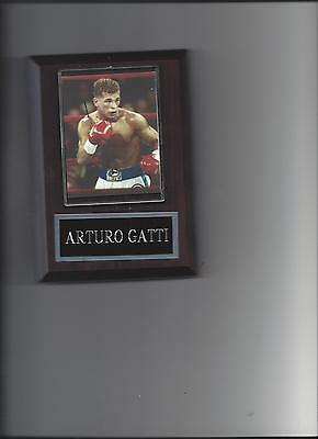 Arturo Gatti Plaque Boxing Champion
