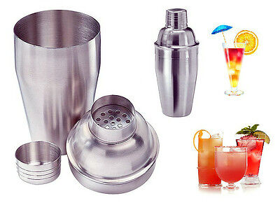 Shaker Cocktail Drink Alcool Set Accessori Professionali in Acciaio per Barman