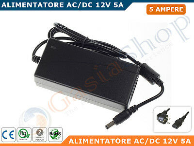 Alimentatore Ac/dc Switching 12V  5A
