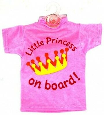 baby on board car sign little princess. Delivery is Free