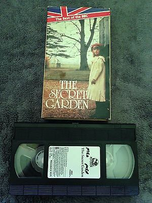 2 VHS TAPES The Secret Garden 1949 version and Song of the South ...