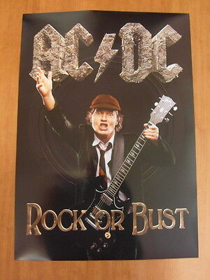 AC/DC - Rock or Bust [OFFICIAL] POSTER *NEW*