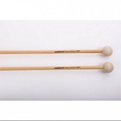 Malletech NR08R Natural Rubber White Rattan Xylophone Mallets. Shipping Included
