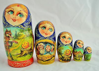 Матрешка.Russian Main Painted Nesting Doll. Poupée Russe. Russische Puppe.