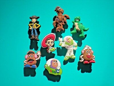 Jibbitz Croc Clog Shoe Charms Plug Toy Story Fit Kid Holey Accessories WristBand