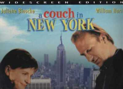 Couch In New York (A) Ws Cc New & Sealed Ntsc Laserdisc