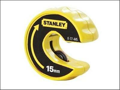 Stanley Plumbing 15mm Automatic Copper Pipe Slice Tube Cutter Plumbers Tool