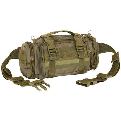 FOX Large MOLLE Modular Deployment Waist Pack, Shoulder Bag, Daily Carry Daypack