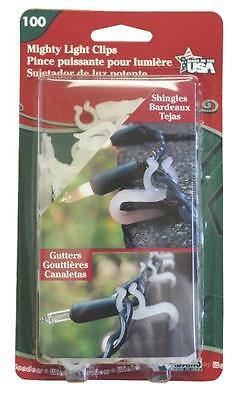 Adams Mfg 5150-99-1040 100/PACK MIGHTY LIGHT CLIPS PINCE PUISSANTE POUR LUMIERE