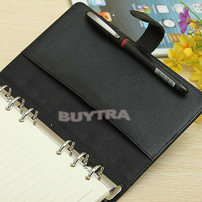 PU Leather Bound Blank Pages Journal Diary Notebook Sketchbook Retro Vintage Hot