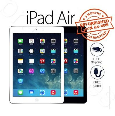 Apple iPad Air 1st Generation 16 32 64GB Wi-Fi 9.7in Space Grey Silver Tablet MR