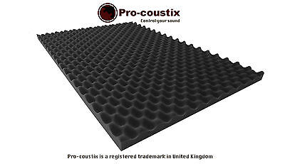Genuine Pro-coustix  Ultraflex Wave High Quality Acoustic XL foam tiles 4 panel