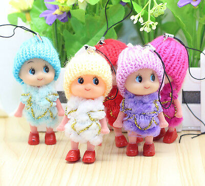Mini Phone Pendant Cute Kids Toys Soft Interactive Baby Dolls Toy Doll For Girls