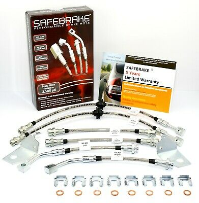 HSV VT with C5/C6 brakes & Traction Control 1997-00- SAFEBRAKE Performance Hoses