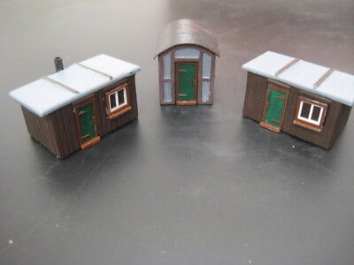 0 Gauge Lineside Huts Set