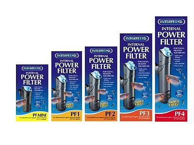 Interpet PF Internal Aquarium Filters - All Sizes - First Class Postage!!