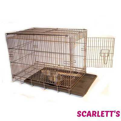 Small Travel cage For Birds With Perch & Bowls