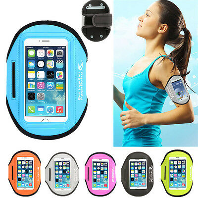 For Apple iPhone 6 6S Plus Sport Gym Running Jogging Armband Arm Band Case Pouch