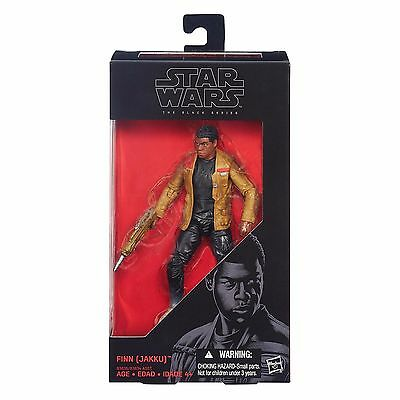 FINN (JAKKU) Star Wars The Black Series 6-inch Action Figure NIB