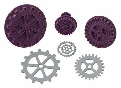 Steampunk Gear Plunger Cutter Set Of 3 - Black Cherry Cake Company