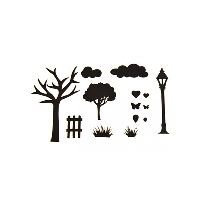 Countryside Silhouette Cutter Set - Patchwork Cutters