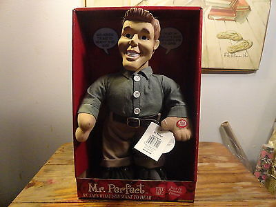 Mr. Perfect Talking Plush Doll: He says what you want to hear  16 Phrases