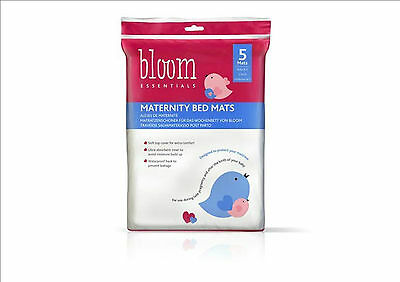 Bloom Maternity 5pcs Bed Mats Pads Disposable Mattress Protector pads Toddler