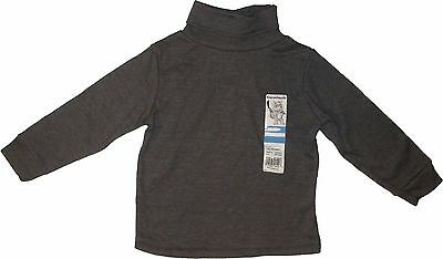 Garanimals Infant Boys Solid Basic Turtleneck Long Sleeve Shirt Top Size 12M