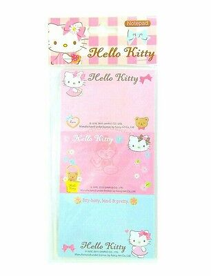 Super Cute Sanrio Hello Kitty 30 Sheets Perforated Notepad #c