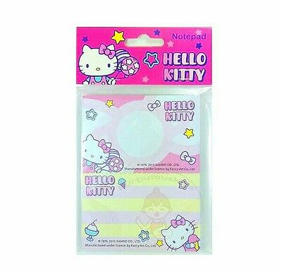 Super Cute Sanrio Hello Kitty 50 Sheets Perforated Notepad #c