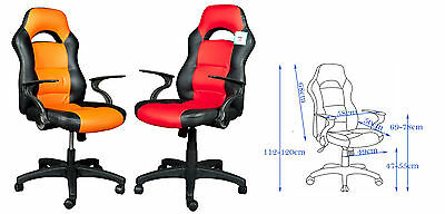 Brand New Design PU Leather Sporty Computer/Office Chair, fast delivery