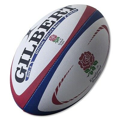 Official England Rugby Replica High-grade Ball  by Gilbert - Size 5.