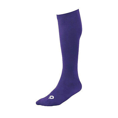 Adult Women's DeMarini Baseball / Fastpitch Softball Socks, Size: L, Purple