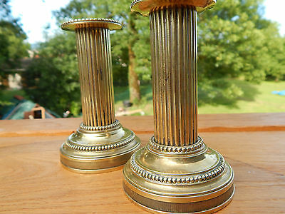 antique ,candle holder, candlesticks french bronze, copper