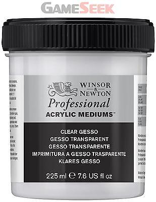 Winsor and Newton 237ml Acrylic Clear Gesso