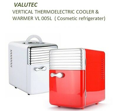New VALUTEC Vertical Thermoelectric Warmer & Cooler VL055L Cosmetic Refrigerator