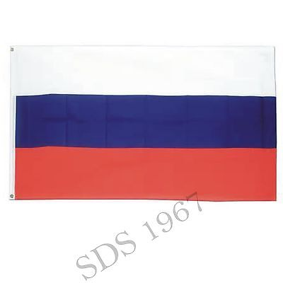 RUSSIA FLAG - RUSSIAN NATIONAL FLAGS - 3x5