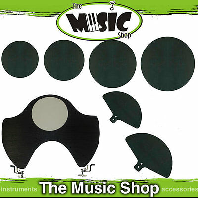 Drum Mute Silencer Set for Fusion Kit 7 Pieces - Pads