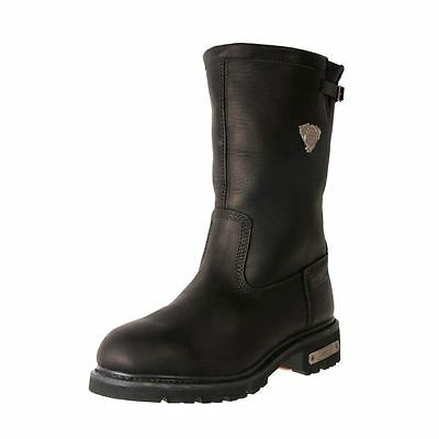 New Jonny Reb Men's Tall Leather Waterproof Warm Motorcycle Boots Bomber Cheap