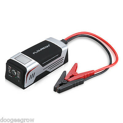 20000mAh 12/24V portable voiture LCD jump starter pack booster Chargeur Batterie
