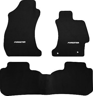 SUBARU FORESTER S4 SJ CAR FLOOR MATS FRONT & REAR - 2012 to 2017 - WAGON