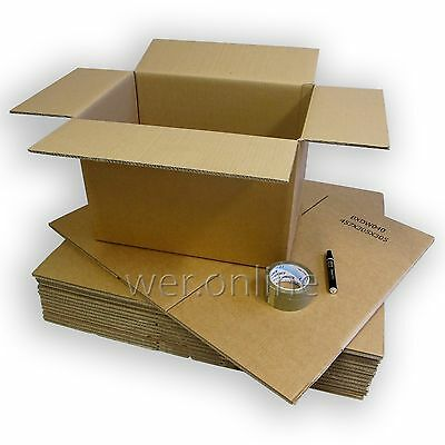 Large Double and Single Wall Removal Cardboard Packing Boxes House Box Moving
