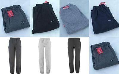 Junior Boys & Girls Slazenger Fleece Jogging Track Pants Bottoms Trousers Kids