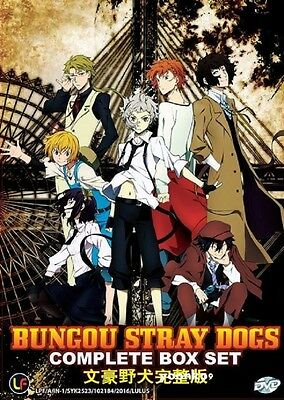 DVD Anime Bungo Stray Dogs Complete TV Series 1-12 End English Subtitle Region 0