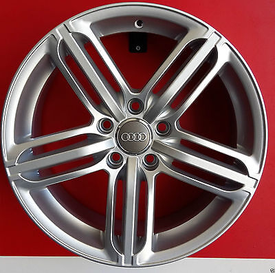 "F557/s Kit 4 Cerchi In Lega Da 17"" Et35 Made In Italy Audi A4 (8E/ B5),a5/cabrio"