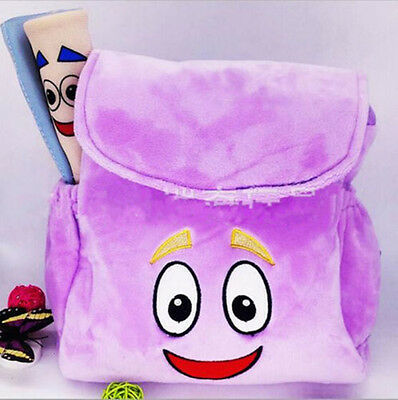 New Dora The Explorer Backpack Plush Rescue Bag with Map