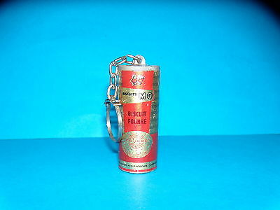 Porte cle - BISCUITS  MO - BISCUITS FOURRES - OBJET 3 D - ANNEES 1960