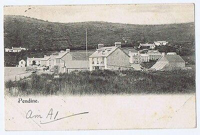 PENDINE Carmarthenshire, Early Postcard with Undivided Back Postally Used 1903